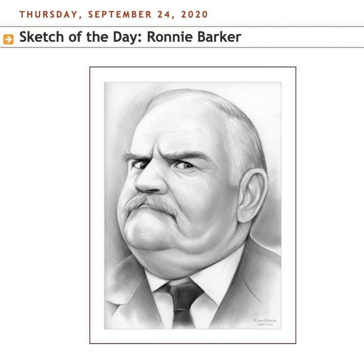 RonnieBarker English actor comedian writer British comedy television Porridge TheTwoRonnies OpenAllH