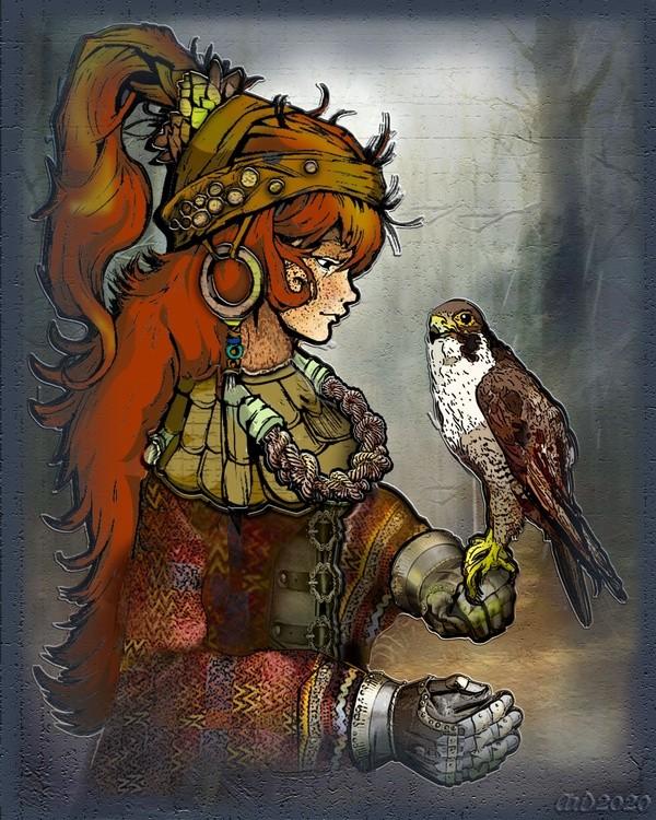 The Falcon Princess
