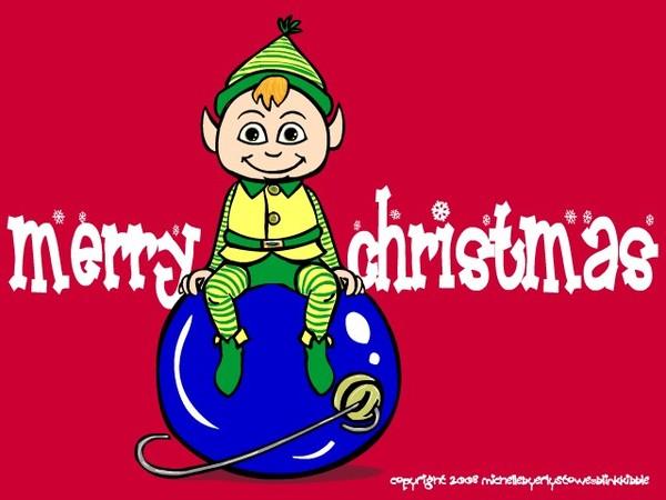 Holiday Elf Greetings