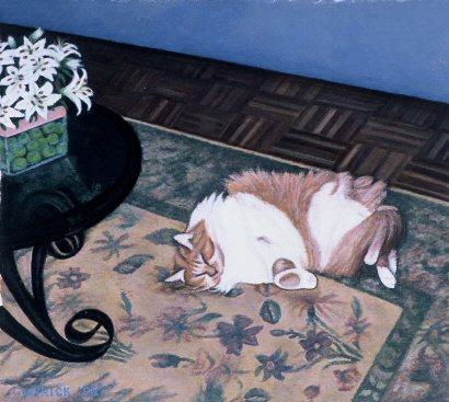 Ginger (the Demon Cat)
