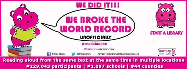 World Record- Read Aloud Eshot