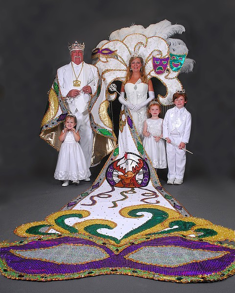 2012 Mardi Gras King&Queen
