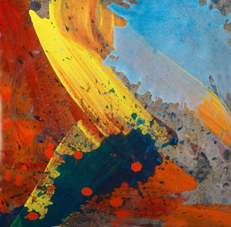 Abstract composition 222