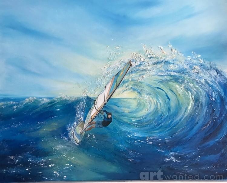 """""""Gone Surfing"""""""