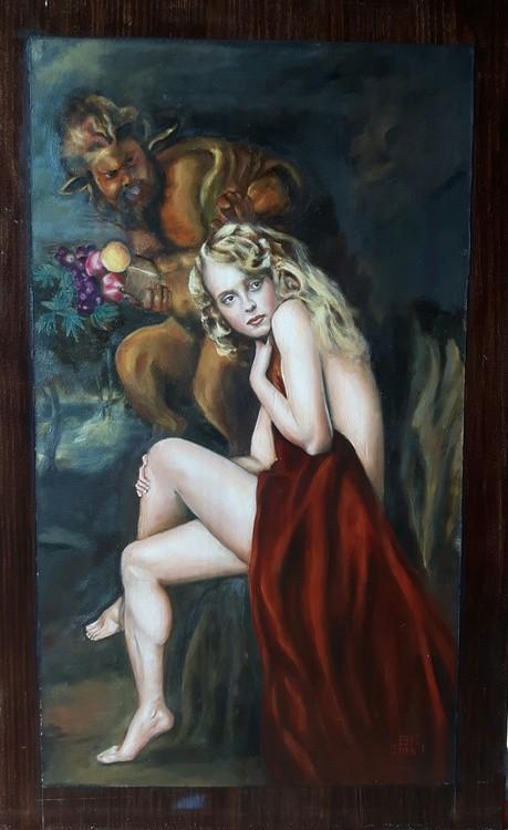 Venus and the Satyr